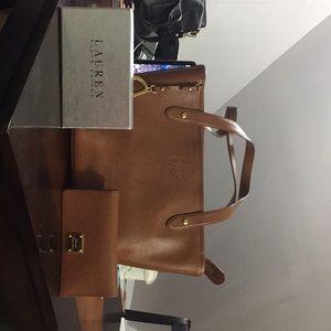 Ralph Lauren Purse and Wallet set